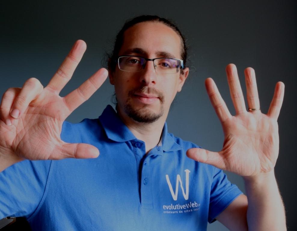 8 ans pour l'agence web evolutiveWeb.com à Chartres