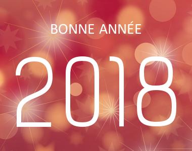 Votre agence web vous souhaite une bonne année 2018