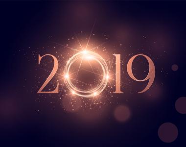 Votre agence web vous souhaite une très bonne année 2019