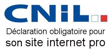 Déclaration obligatoire à la CNIL pour son site internet