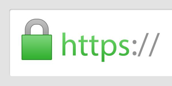 Affichage du HTTPS avec certificat SSL