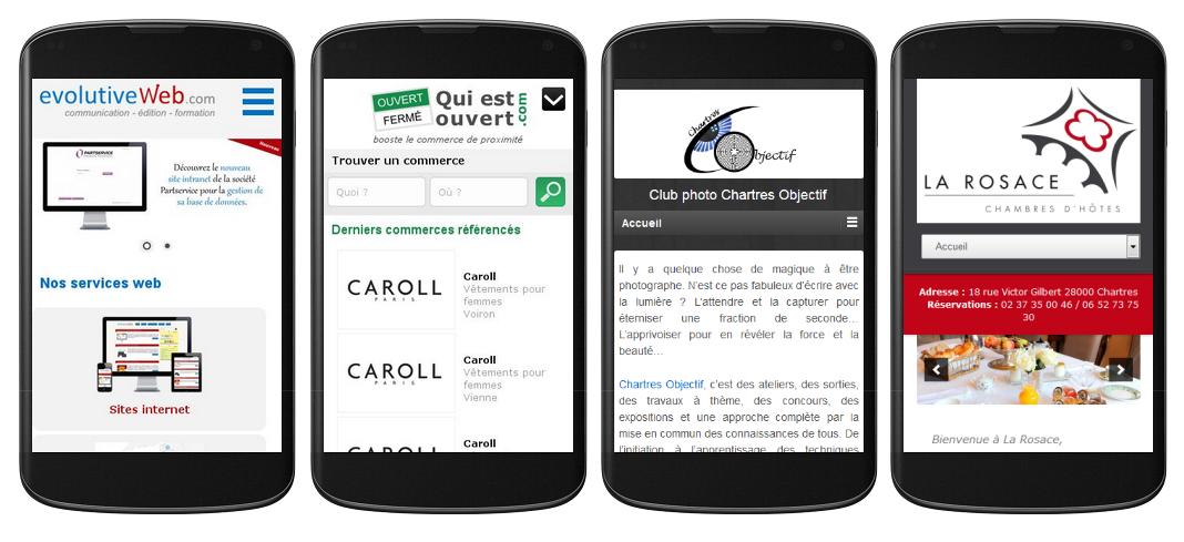 Création site internet mobile à Chartres