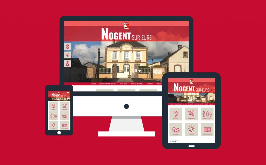 Création du site internet de la commune de Nogent-sur-Eure