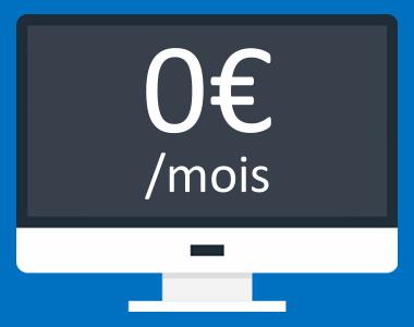 Création de site internet sans abonnement mensuel