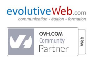evolutiveWeb.com devient partenaire OVH