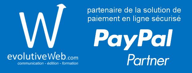 evolutiveWeb.com agence web à Chartres partenaire de PayPal