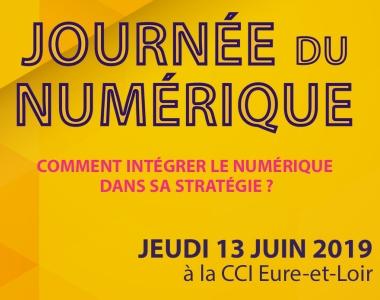 evolutiveWeb.com participe à la Journée du Numérique 2019 de la CCI d'Eure-et-Loir