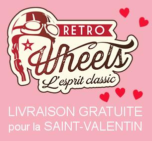 Livraison gratuite pour la Saint-Valentin chez Retro Wheels