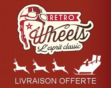 Livraison offerte pour Noël chez Retro Wheels