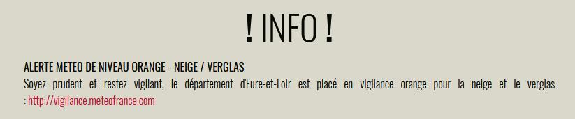 Alerte sur le site internet de Nogent-sur-Eure