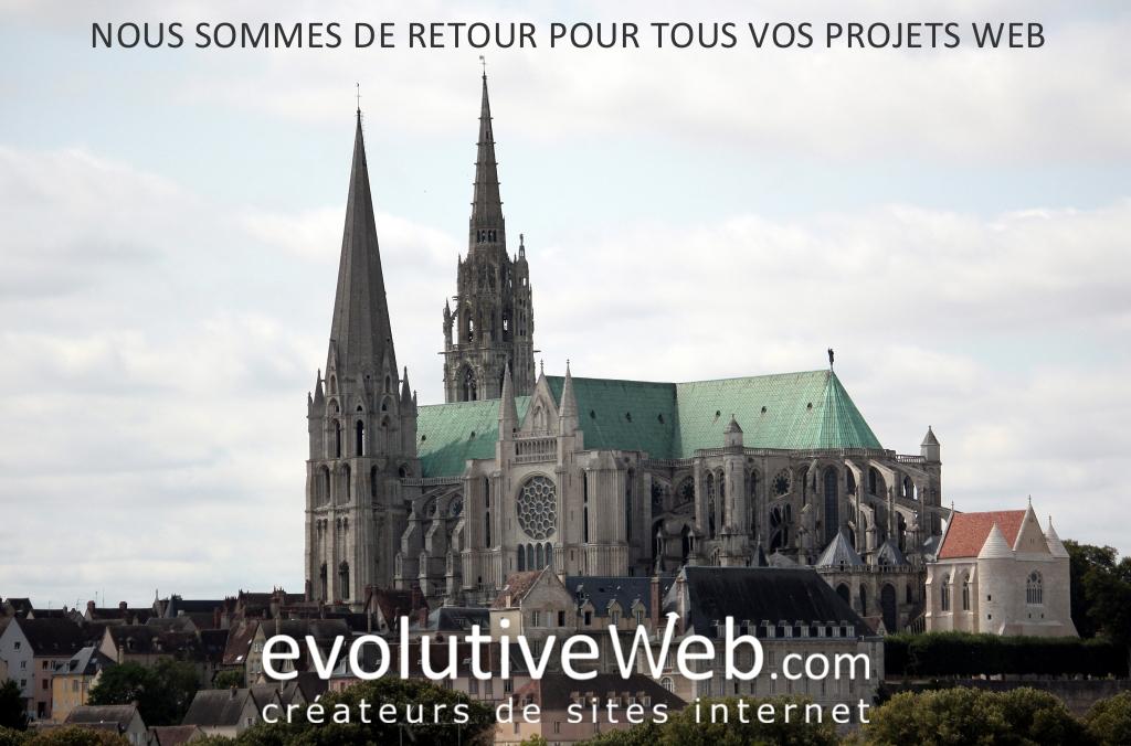 Votre agence web evolutiveWeb.com est de retour pour tous vos projets web