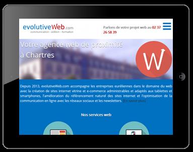 Nouveau site internet pour votre agence web de proximité à Chartres