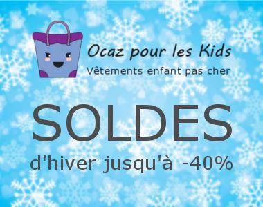 Lancement des soldes chez Ocaz pour les Kids