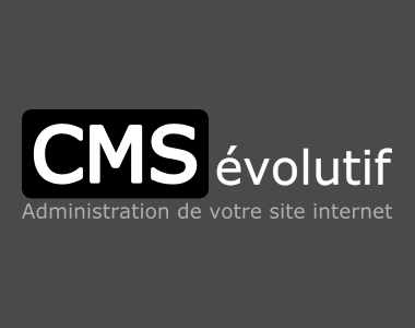 Refonte du site internet vitrine présentant le CMSévolutif