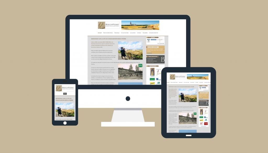 Nouveau site internet pour Berch-Pierre