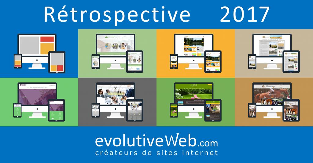 Rétrospective 2017 pour evolutiveWeb.com