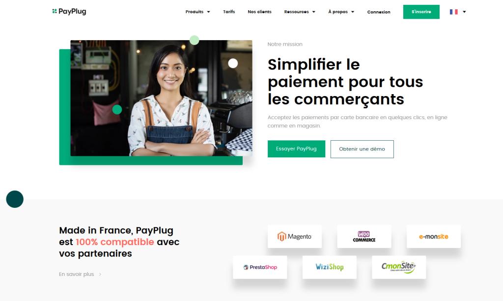 Solution de paiement en ligne PayPlug