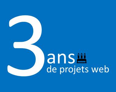 evolutiveWeb.com, votre agence web de proximité à Chartres fête ses 3 ans
