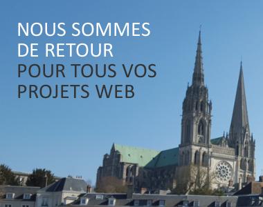Nous sommes de retour pour vous accompagner dans tous vos projets web