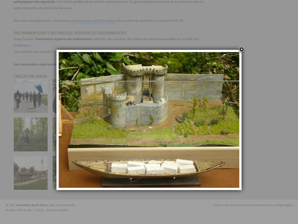 Galeries photos sur le site de Berch-Pierre