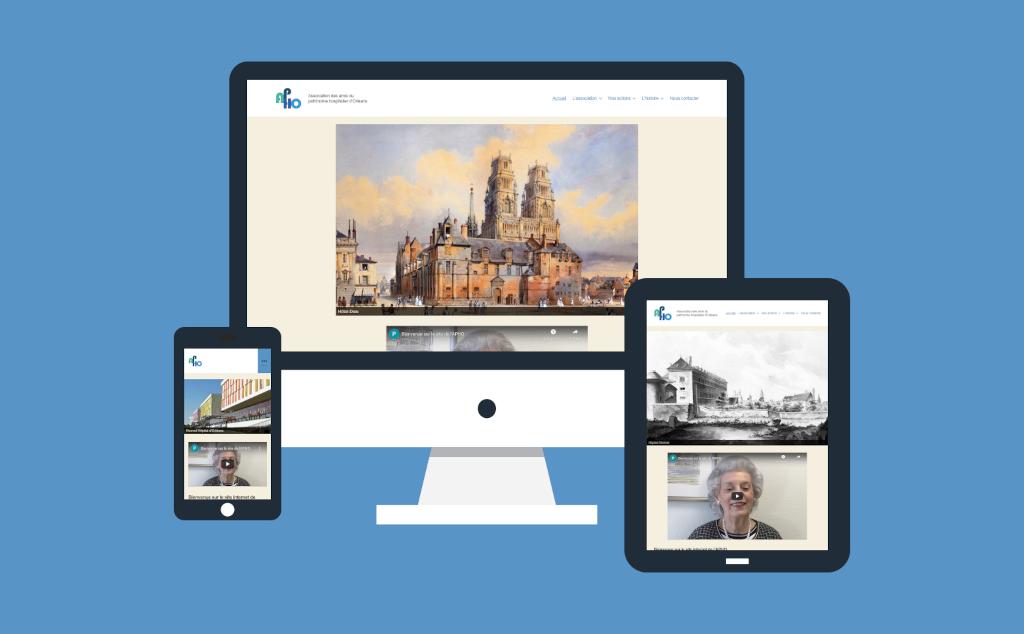 Site internet pour l'association APHO du Loiret