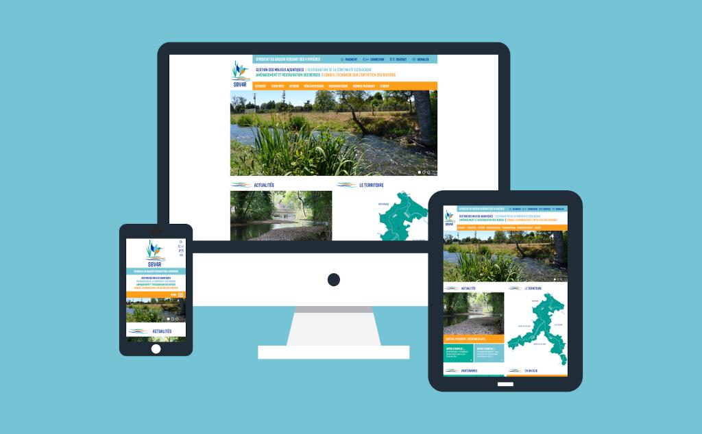Site internet pour le SBV4R � Sainte-Gemme-Moronval en Eure-et-Loir