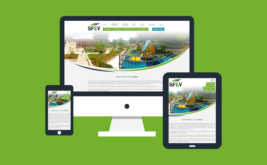 Site internet pour SFEV � �tampes