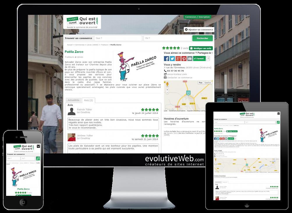 Adresses, horaires et infos des commerces